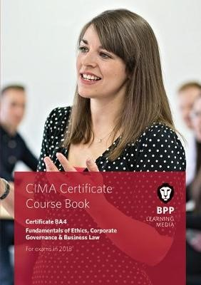 CIMA BA4 Fundamentals of Ethics, Corporate Governance and Business Law - pr_284354