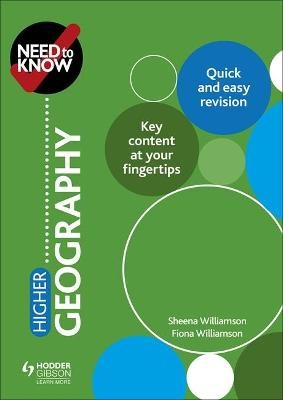 Need to Know: Higher Geography - pr_197306