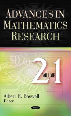 Advances in Mathematics Research -