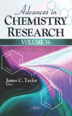 Advances in Chemistry Research -