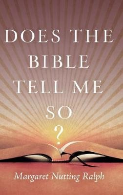 Does the Bible Tell Me So? - pr_403959