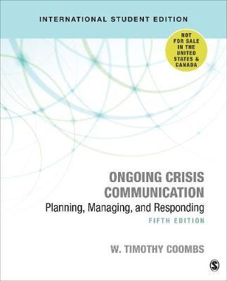 Ongoing Crisis Communication -