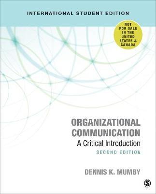 Organizational Communication -