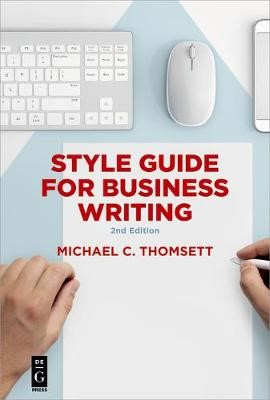 Style Guide for Business Writing - pr_139542