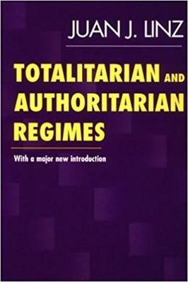 Totalitarian and Authoritarian Regimes -
