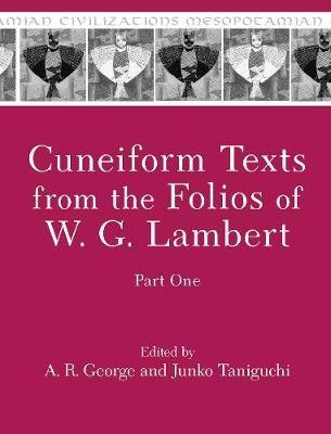 Cuneiform Texts from the Folios of W. G. Lambert, Part One - pr_1747802