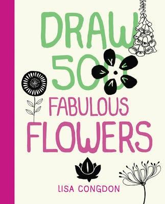 Draw 500 Fabulous Flowers -