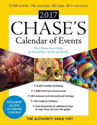 Chase's Calendar of Events 2017 - pr_16423