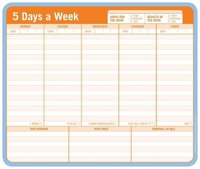 Knock Knock Mousepad: 5 Days a Week - pr_236868
