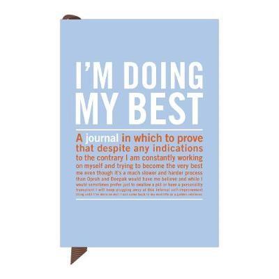 Knock Knock I`m Doing My Best Mini Inner Truth Journal - pr_236872