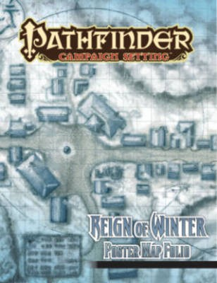 Pathfinder Campaign Setting: Reign of Winter Poster Map Folio - pr_339756