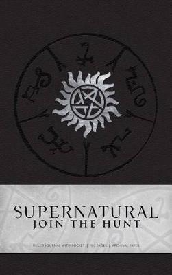 Supernatural Hardcover Ruled Journal -