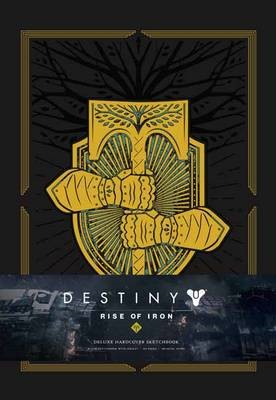 Destiny: Rise of Iron: Blank Hardcover Sketchbook - pr_232310