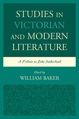Studies in Victorian and Modern Literature - pr_143344