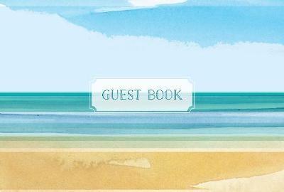 Guest Book Coastal Edition -