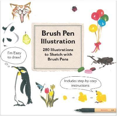 Brush Pen Illustration -