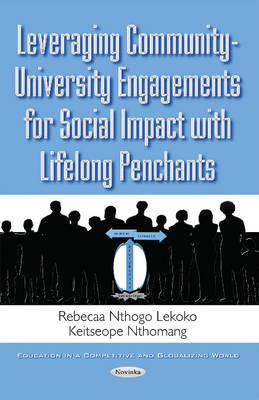 Leveraging Community-University Engagements for Social Impact with Lifelong Penchants -