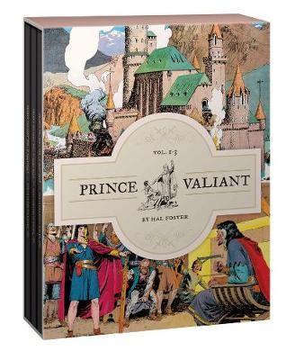 Prince Valiant Vols. 1-3 Gift Box Set -