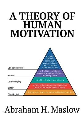 A Theory of Human Motivation - pr_144405