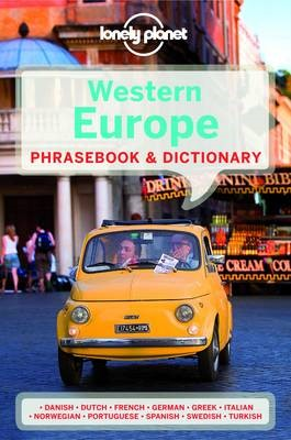 Lonely Planet Western Europe Phrasebook & Dictionary - pr_168321