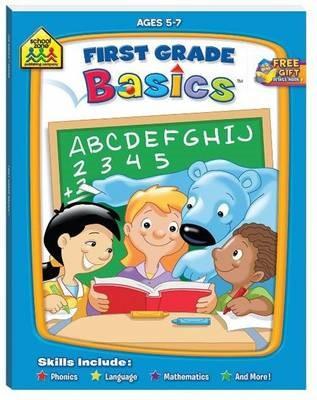 School Zone: First Grade Basics - pr_1865361