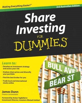 SHARE INVESTING FOR DUMMIES 3RD AU ED -
