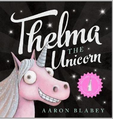 Thelma the Unicorn with Unicorn Horn -