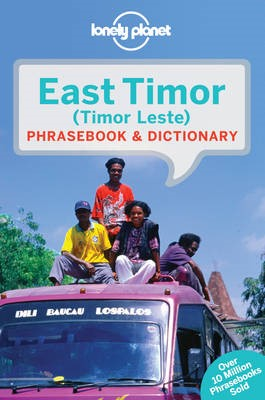 Lonely Planet East Timor Phrasebook & Dictionary - pr_363825