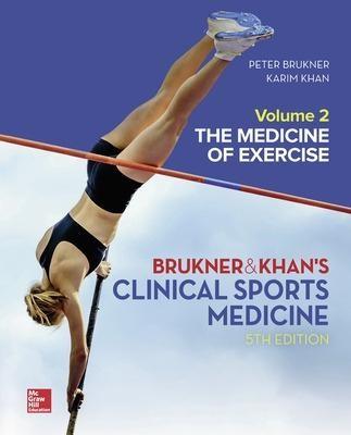 CLINICAL SPORTS MEDICINE: THE MEDICINE OF EXERCISE 5E, VOL 2 -