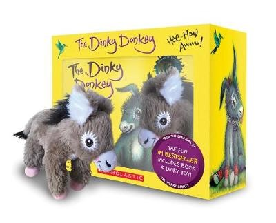 Dinky Donkey The Box Set Plush Minibook -