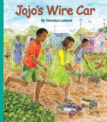 Jojo's wire car -