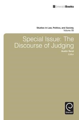 Special Issue: The Discourse of Judging - pr_84472