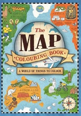 The Map Colouring Book -