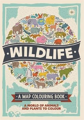 Wildlife: A Map Colouring Book - pr_1783865