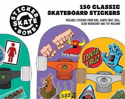 Stickerbomb Skate -