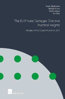 The EU Private Damages Directive - Practical Insights: Minutes of the Closed Workshop - pr_32371