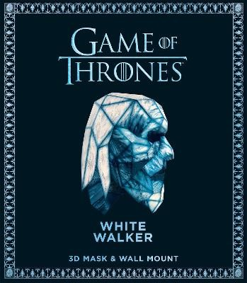 Game of Thrones Mask - White Walker: 3D Mask & Wall Mount - pr_204079