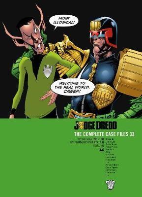 Judge Dredd: The Complete Case Files 33 -
