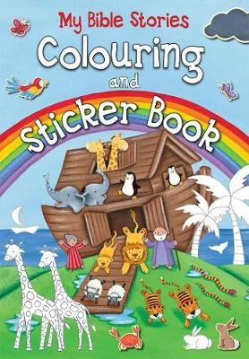 My Bible Stories Colouring and Sticker Book -