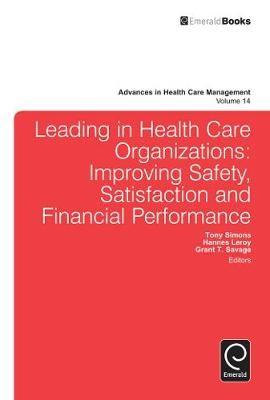 Leading In Health Care Organizations - pr_282795