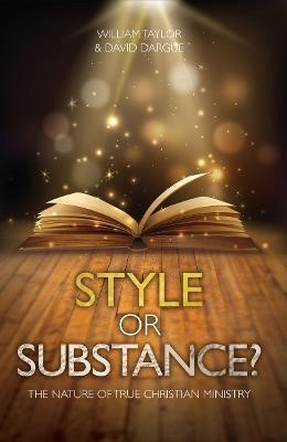 Style Or Substance? -