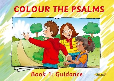 Colour the Psalms Book 1 -