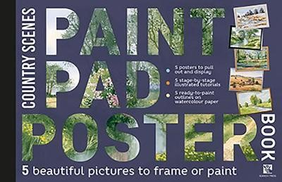 Paint Pad Poster Book: Country Scenes - pr_399180
