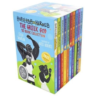 Hopeless Heroes: The Greek God 10 Book Collection -