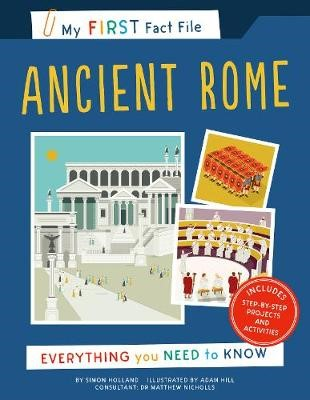 My First Fact File Ancient Rome - pr_120671