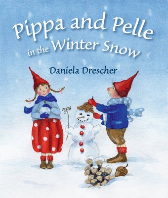 Pippa and Pelle in the Winter Snow - pr_148694
