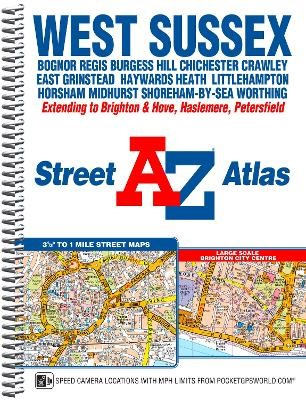 West Sussex A-Z Street Atlas - pr_21035