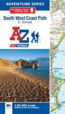 SW Coast Path Dorset Adventure Atlas -