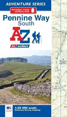 Pennine Way (South) A-Z Adventure Atlas -