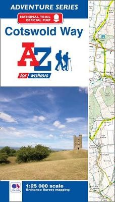 Cotswold Way A-Z Adventure Atlas - pr_17186